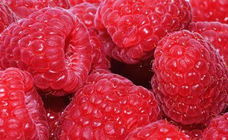 bacca: Fresh raspberries