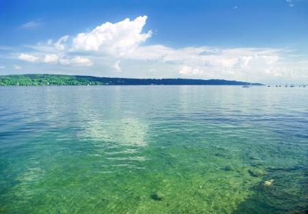munich: Bavarian lake near the Munich