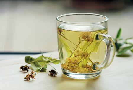 alimentos y bebidas: Té con cal