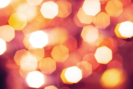 Pink and red bokeh. Pattern Stock Photo