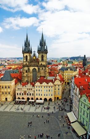 Prague, Old Town Square Stock Photo