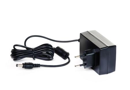 jackplug: Power supply Stock Photo