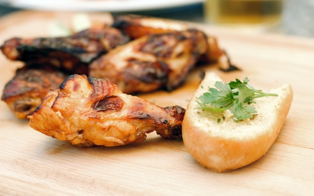 chiken: Grilled chicken winglets