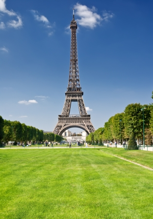 The Eiffel Tower, Paris photo