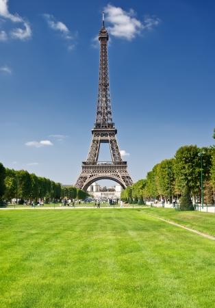 The Eiffel Tower, Paris Stock Photo
