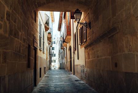 Streets of Palma de Majorca. Spain, Europe