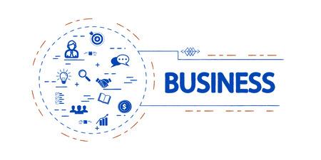 Business  creative vector concept