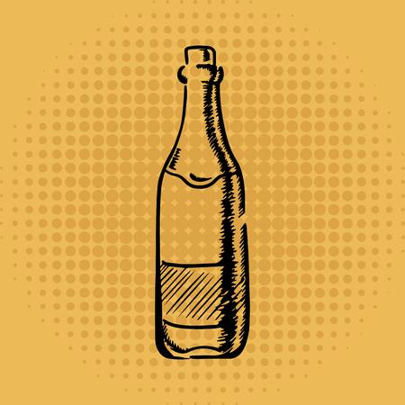 Bottle Ilustrace