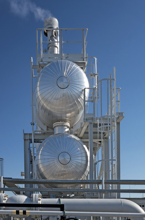 Modern natural gas processing plant for dehydration