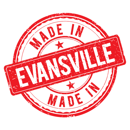 made: Made in EVANSVILLE stamp