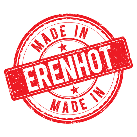 made: Made in ERENHOT stamp