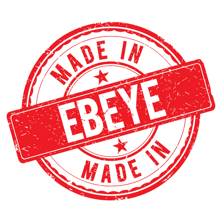 made: Made in EBEYE stamp