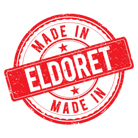 made: Made in ELDORET stamp