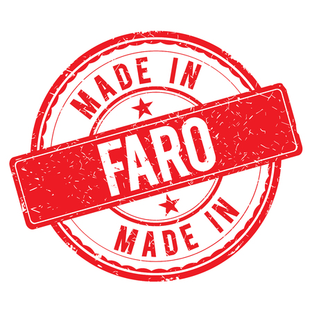 made: Made in FARO stamp