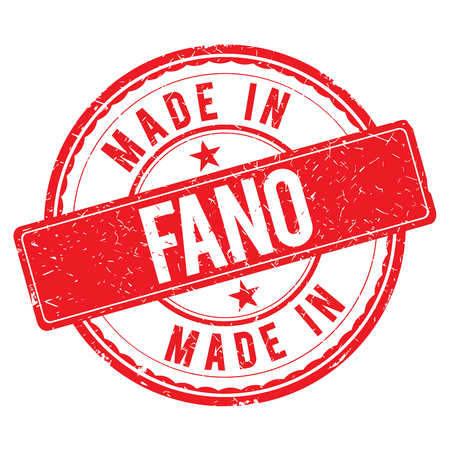 made: Made in FANO stamp