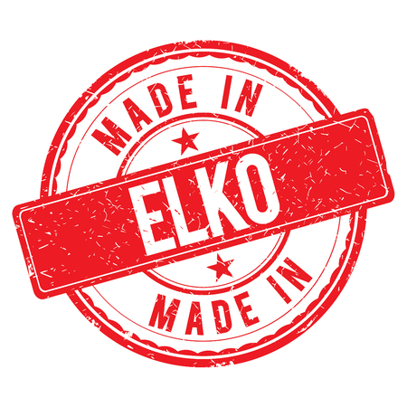 made: Made in ELKO stamp
