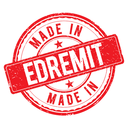 made: Made in EDREMIT stamp
