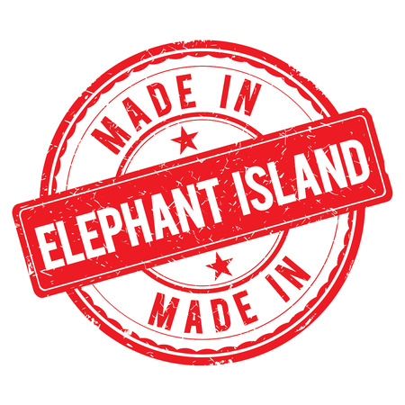 Made in ELEPHANT ISLAND stamp