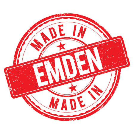 made: Made in EMDEN stamp