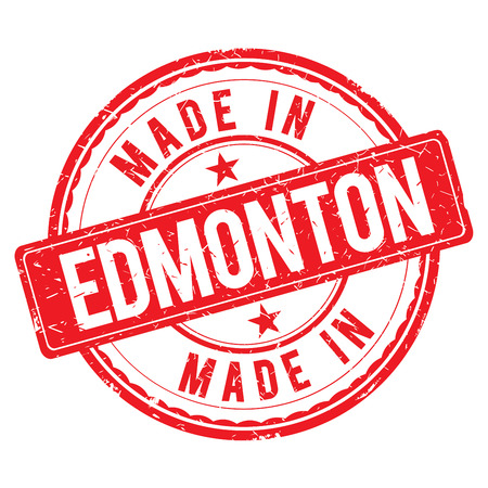 made: Made in EDMONTON stamp