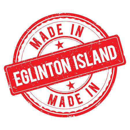 Made in EGLINTON ISLAND stamp