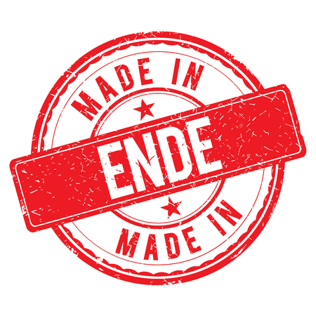 ende: Made in ENDE stamp