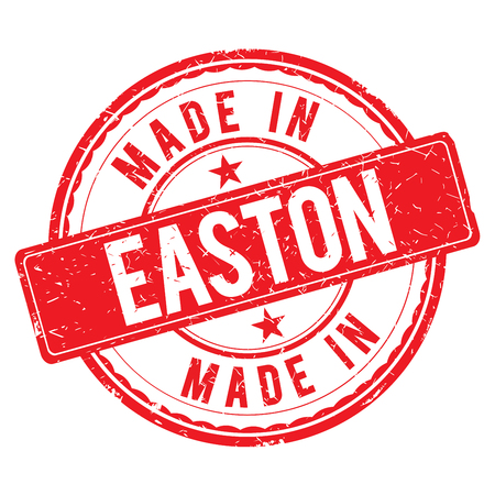 made: Made in EASTON stamp