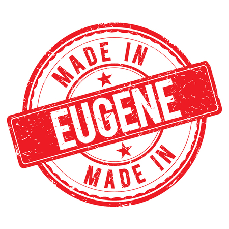 made: Made in EUGENE stamp