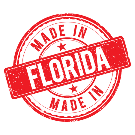 made: Made in FLORIDA stamp