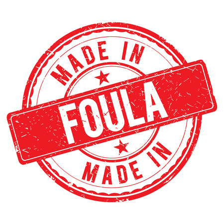 made: Made in FOULA stamp