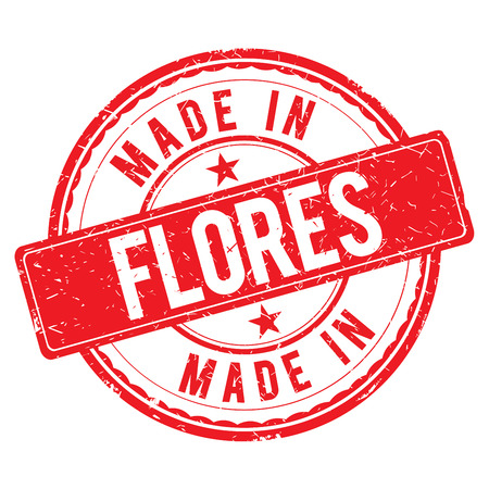 made: Made in FLORES stamp