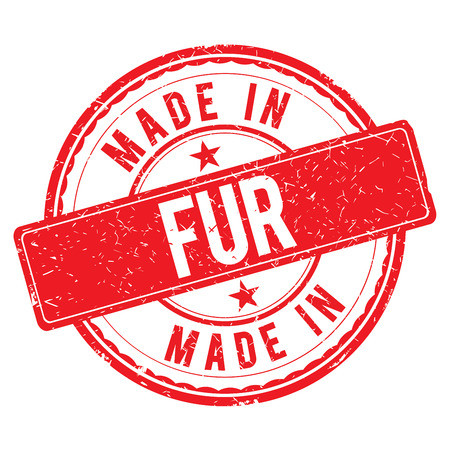 made: Made in FUR stamp