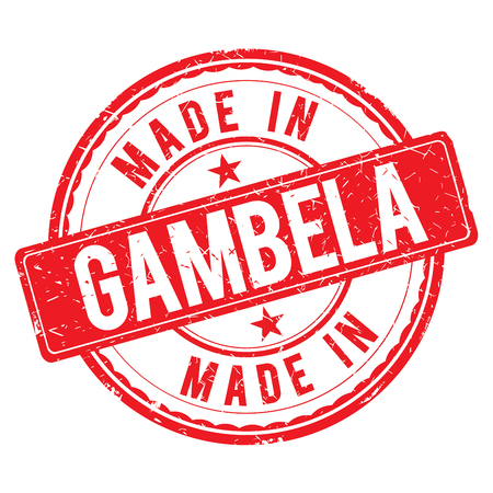 made: Made in GAMBELA stamp