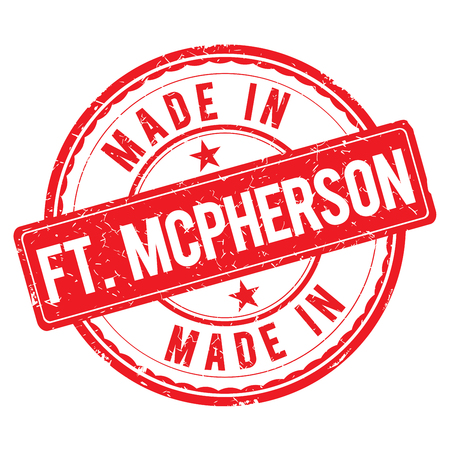 made: Made in FT-MCPHERSON stamp
