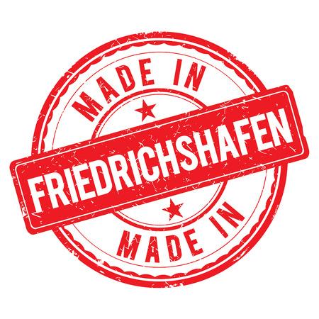 friedrichshafen: Made in FRIEDRICHSHAFEN stamp