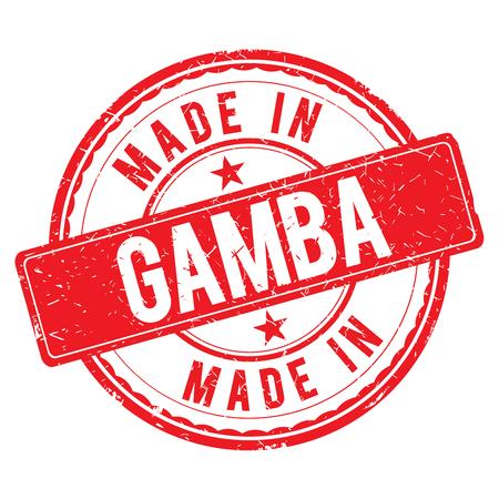 Made in GAMBA stempel