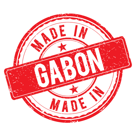 made: Made in GABON stamp