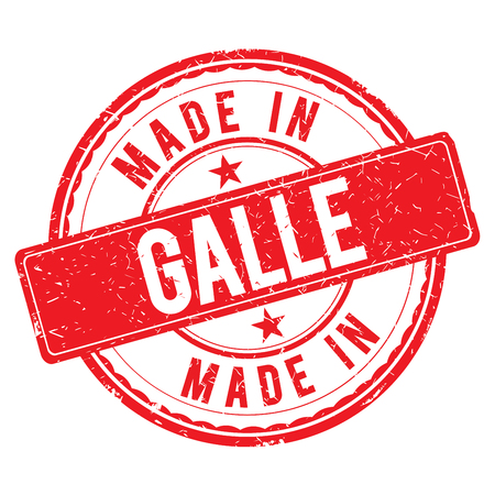 made: Made in GALLE stamp