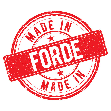 made: Made in FORDE stamp