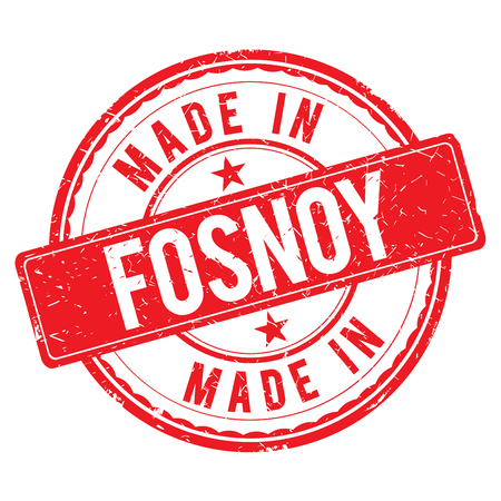 made: Made in FOSNOY stamp