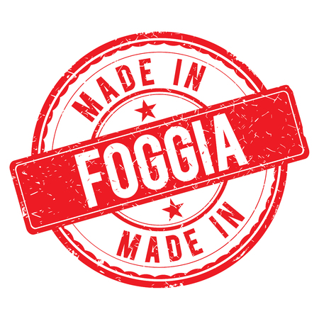made: Made in FOGGIA stamp