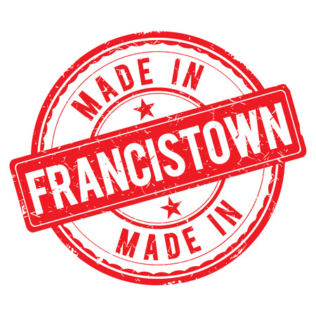 made: Made in FRANCISTOWN stamp