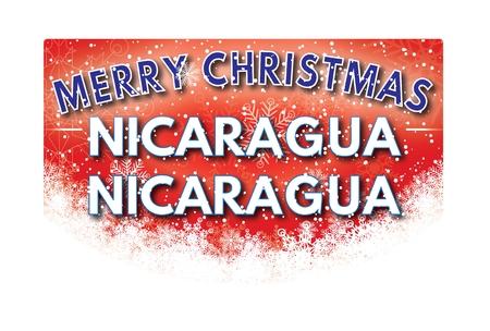 nicaragua: NICARAGUA NICARAGUA  Merry Christmas greeting card