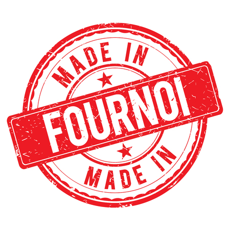 made: Made in FOURNOI stamp