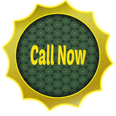 Golden badge with CALL NOW text.