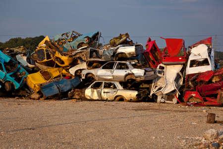 junkyard: Old Junk Cars On Junkyard