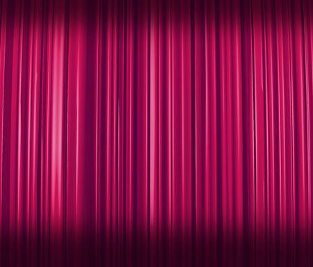 Purple Curtain Shaded
