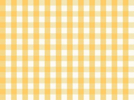 manteles: A cuadros tradicionales sin fisuras, repetici�n de patrones a cuadros en color amarillo y blanco.