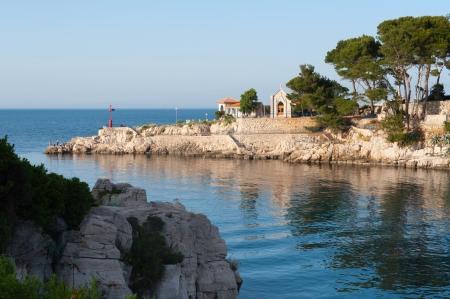 Small mediterranean bay in Mali Losinj - Croatia