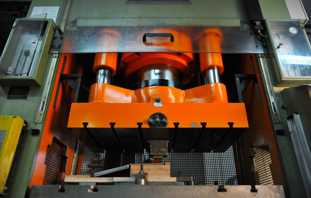 moulded: Heavy press machine for embossing, moulding metal with high pressure